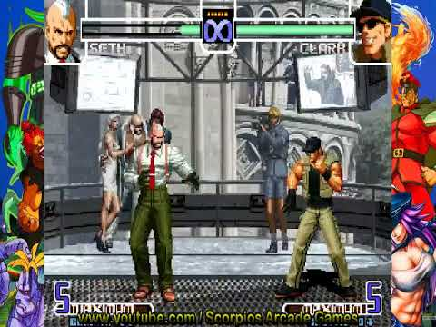 The king of Fighters 2002 - Seth Combos Táticos by Scorpios