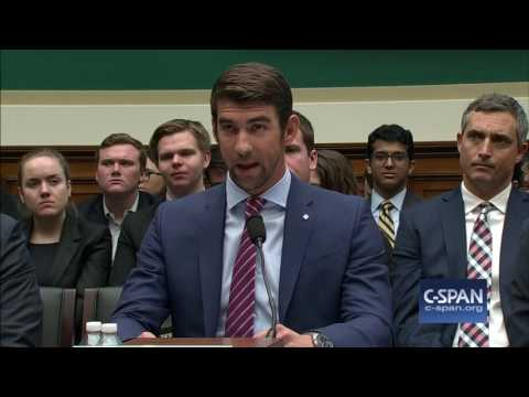Michael Phelps Opening Statement (C-SPAN)