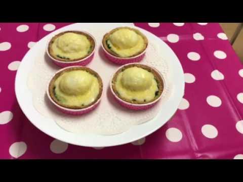 la-recette-tartelette-d'œufs-mollets-aux-épinards