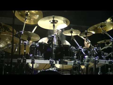 Dimmu Borgir - Daray drum solo Live @ Patronaat, Haarlem 11-11-11