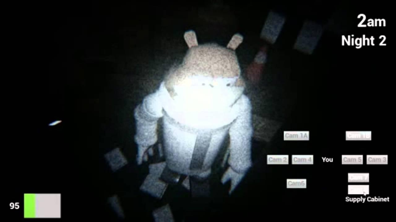 Patrick in The Bathroom? - Five Nights at The Krusty Krab Night 2