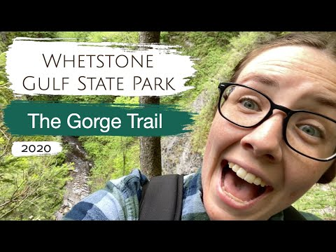 Whetstone Gulf State Park, The Gorge Trail 2020