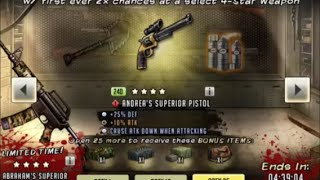 Walking Dead : Road to Survival - PREMIER ARMS CACHE 25 PACK OPENING