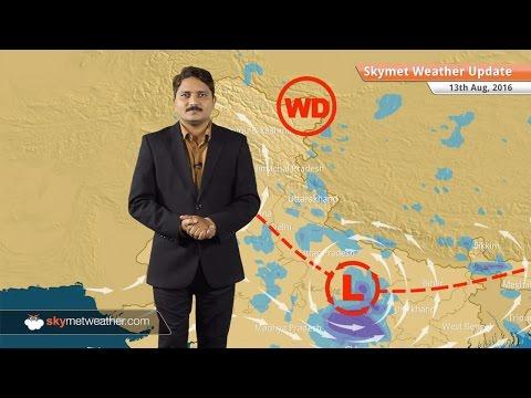 Weather Forecast for Aug 13: Good rains in UP, MP, Bihar, Uttarakhand light rain in Delhi, Haryana