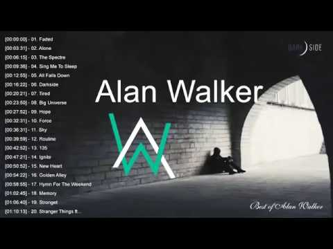 Top 20 popular songs by Alan Walker