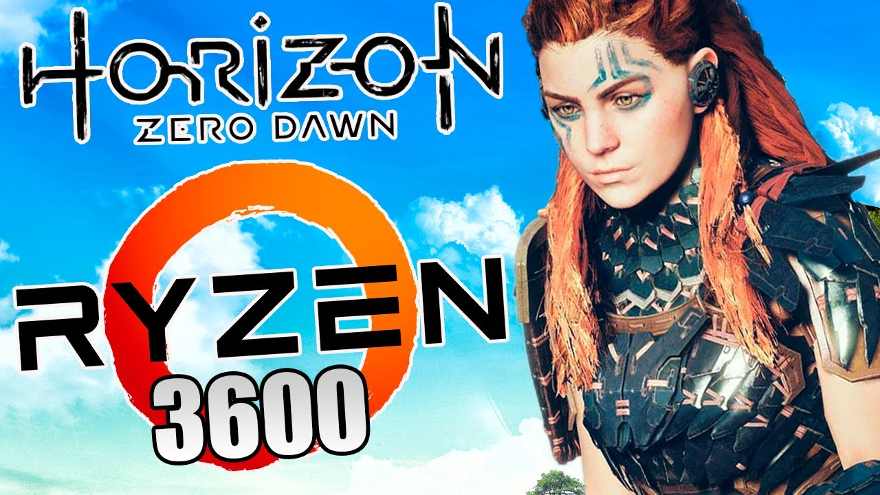 HORIZON ZERO DAWN | CONFERINDO A PERFORMANCE | GTX 970 + AMD RYZEN 3600