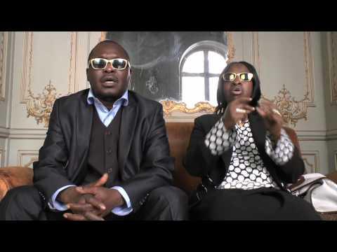 """Interview d'Amadou et Mariam sur le projet """"Africa mon Afrique"""".mov"""