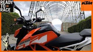KTM Duke 390 Ride Out To Farnborough