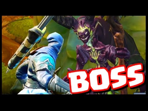EPIC BOSS BATTLE! - Dungeon Hunter 5 - Gameplay Part 2