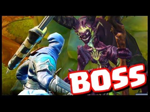EPIC BOSS BATTLE! - Dungeon Hunter 5 - Gameplay Part 2