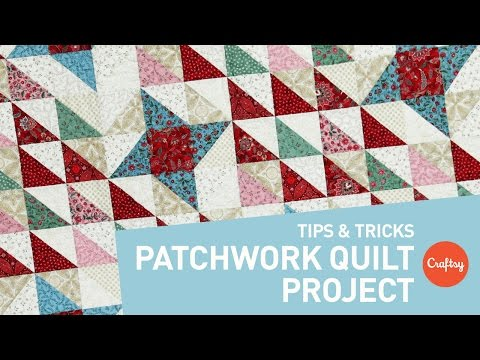Patchwork quilt project: Perfect points every time | Craftsy Quilting Patterns