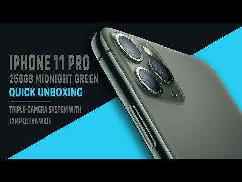 IPhone 11 Pro 256GB Midnight Green (Quick Unboxing)