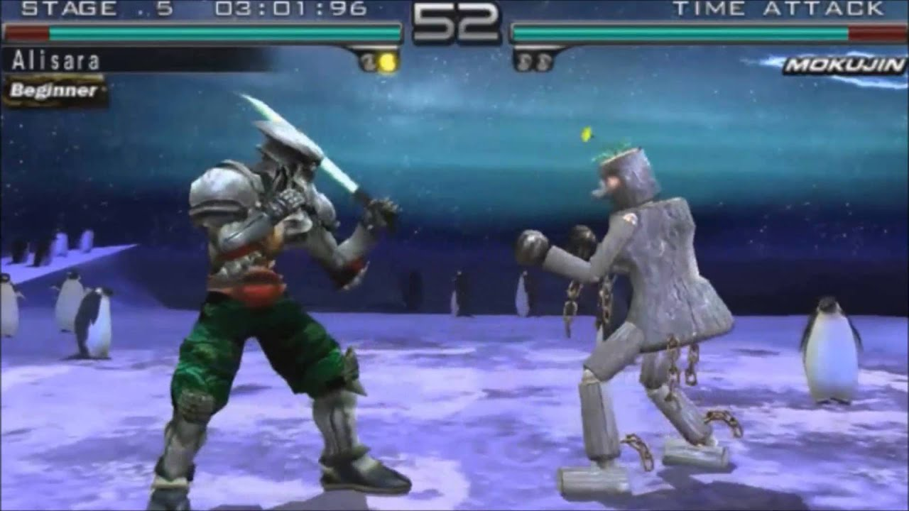 Tekken 5 Dark Resurrection Time Attack Mode Yoshimitsu Youtube