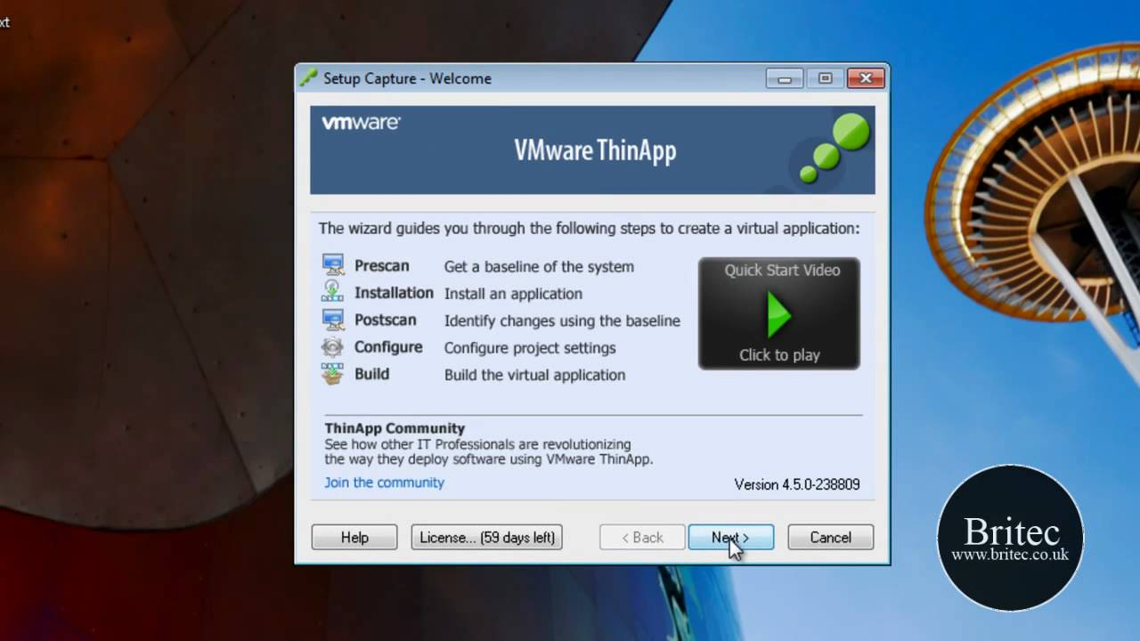 How to Create portable applications with VMWare « Operating