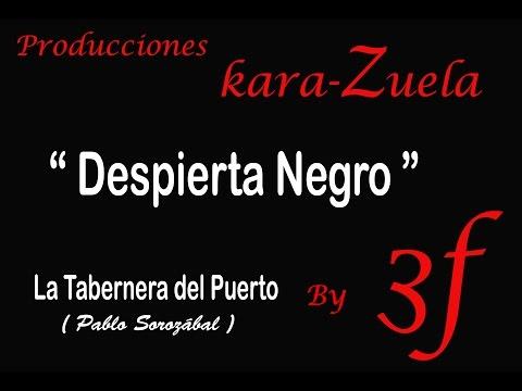 """Karaoke """"Despierta Negro"""" (la Tabernera del Puerto)"""