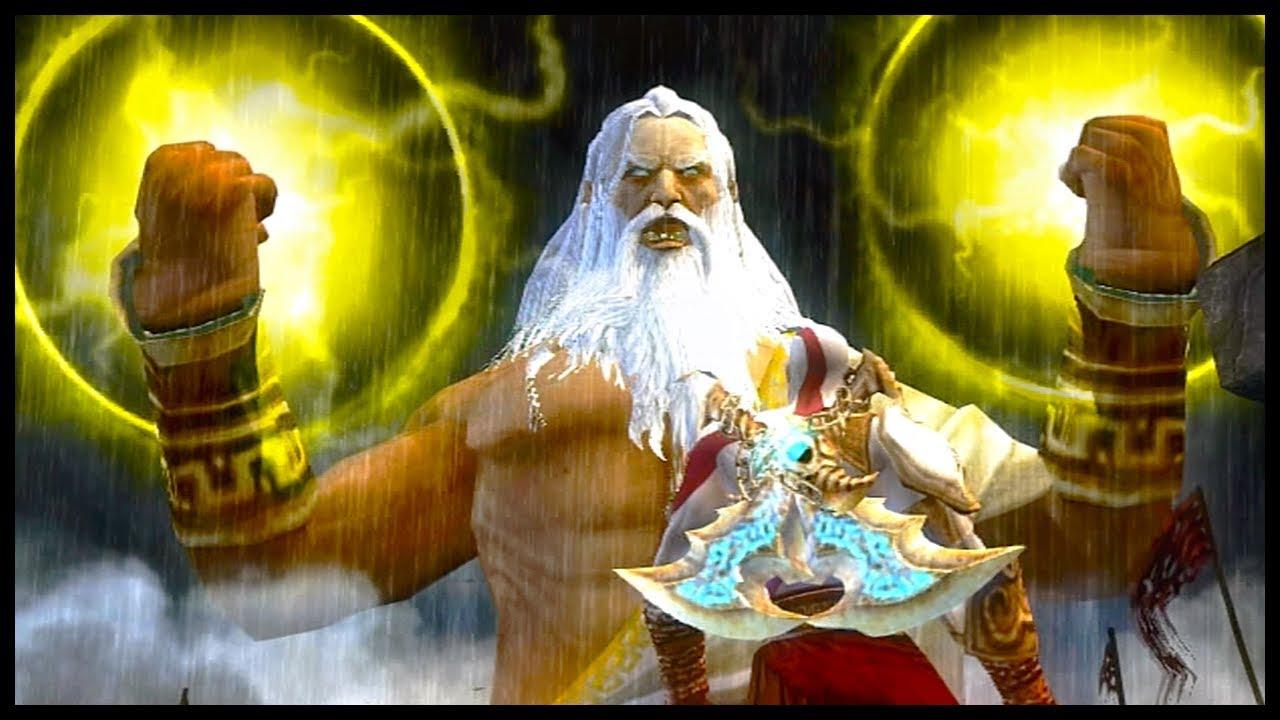 KRATOS vs ZEUS: Batalha Final DUBLADO BR (God of War 2)