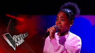 Lil Shan Shan Performs Her Original Song 'Pricey' | The Semi Final | The Voice Kids UK 2019