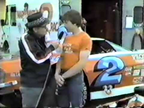 1981 Mark Martin 2 Artgo Racing Series Interview At