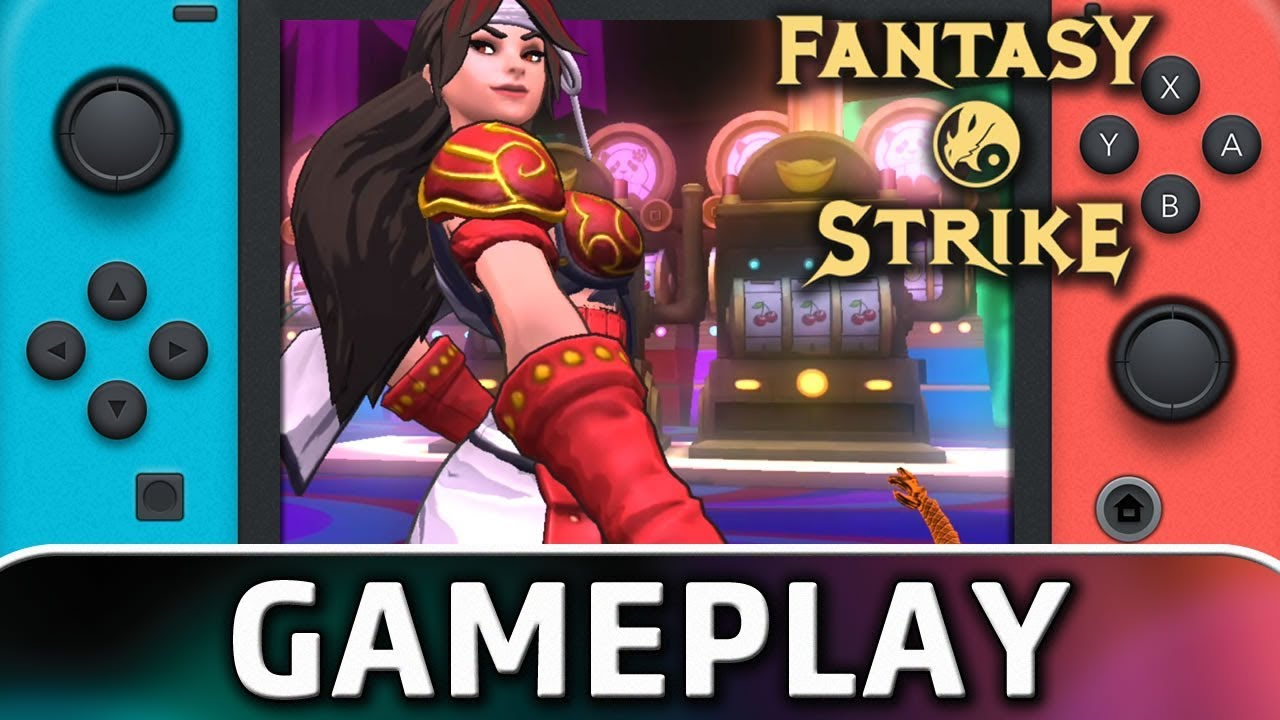 Fantasy Strike | Nintendo Switch Gameplay