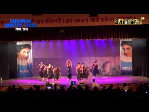 Jaane Kisne - Shiamak Style -  Aundh - Shiamak Winter Funk 2012 - Pune