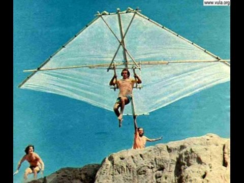 How to build a hang glider!