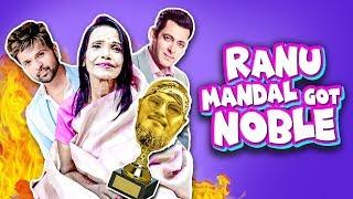 Ranu Mandal Got Noble | রানু মণ্ডল এবার নোবেল পেলেন | TahseeNation