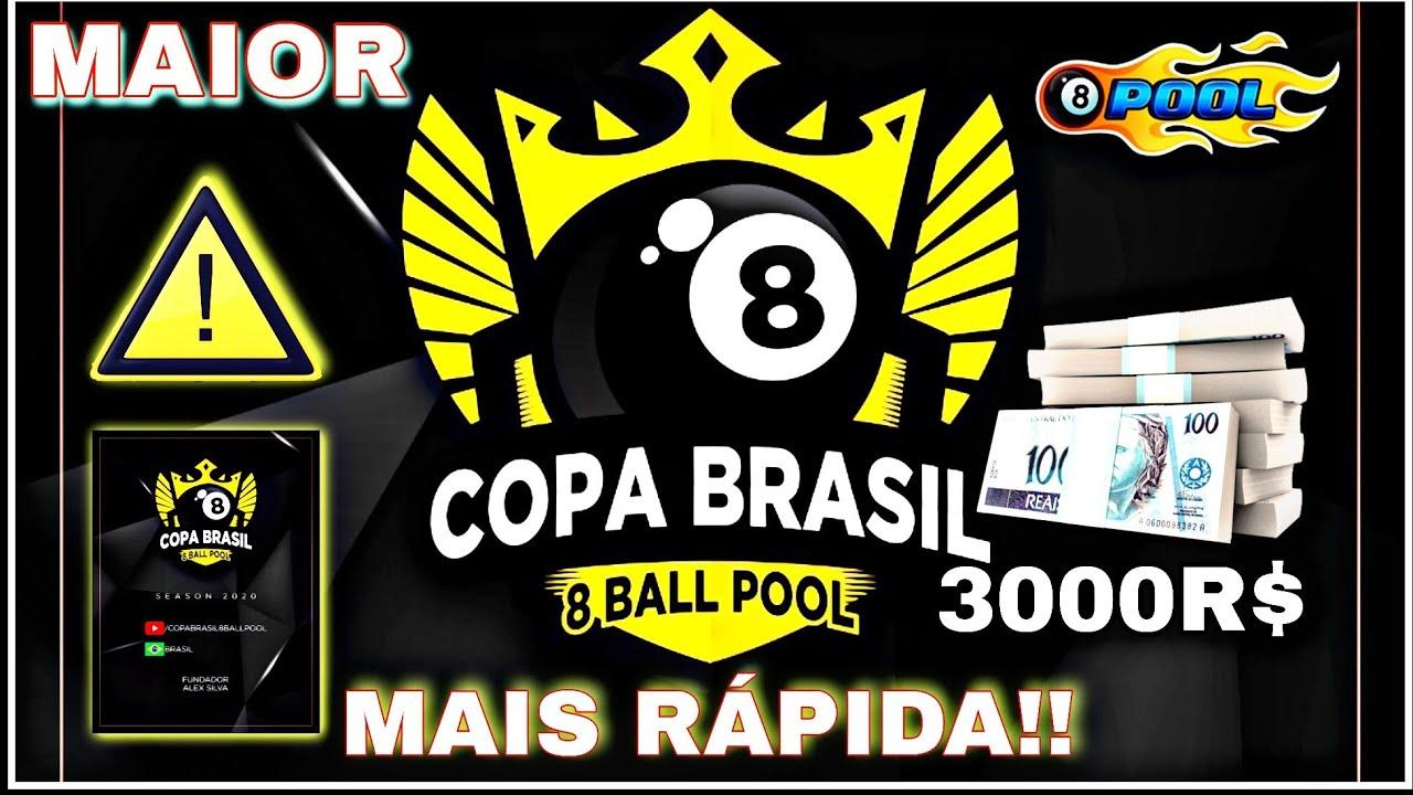 TOTALMENTE DIFERENTE - MAIOR E RÁPIDA A NOVA COPA BRASIL - 8 BALL POOL