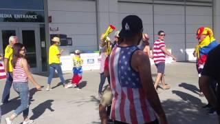 6/3/16 USA vs. Colombia Funny