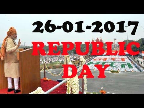 Narendra Modi FIRING Speech ON Republic Day 26 jan 2017 LIVE NOW