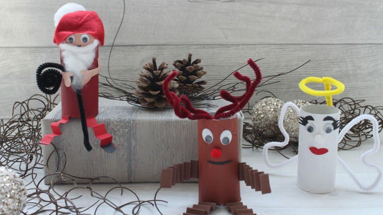 Weihnachtsdeko selber basteln youtube - Weihnachtsdeko selber ...