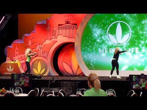Herbalife Extravaganza 2013 Cologne dance