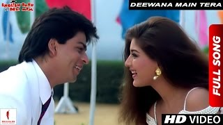Deewana Main Tera Deewana | Full Song | English Babu Desi Mem | Shah Rukh Khan, Sonali Bendre thumbnail