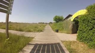 Pasarela madera playa Torre la Sal