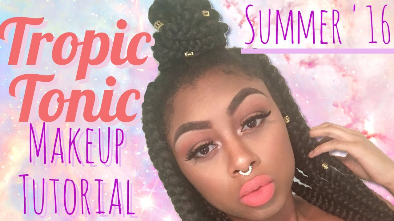 spesso SUMMER '16 Tropic Tonic Makeup Tutorial // JadoreMilan MUA - YouTube YJ84