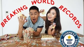 Breaking World Records With Eden Ang!!!!!