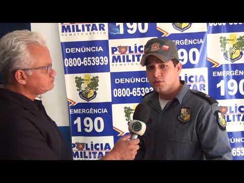 Tenente da Polícia Militar fala sobre registro de boletim de ocorrência