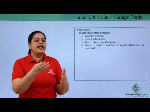 Industry And Trade – Foreign Trade