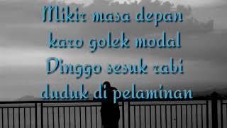 Lirik lagu DEMI KOWE (bangboril)