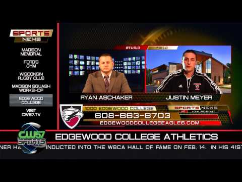 SPORTS NEWS   Justin Meyer, Edgewood College   3-2-2015   Only on CW57