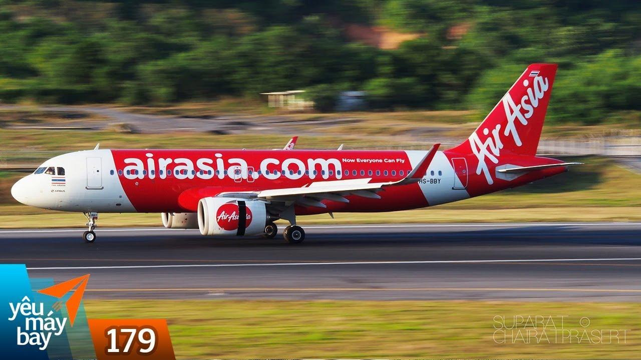 VLOG #179: AirAsia mở 2 đường bay mới: Phú Quốc-Kuala Lumpur, Hà Nội-Chiang Mai | Yêu Máy Bay