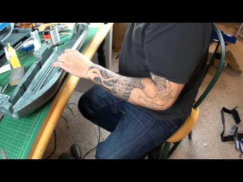 SKYHUNTER FPV Build Part 1 Fuselage