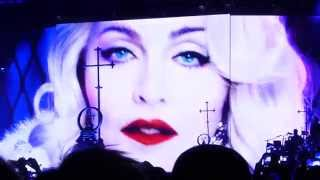 Madonna - Intro / Iconic - Rebel heart tour, Stockholm, Sweden 14/11 - 2015