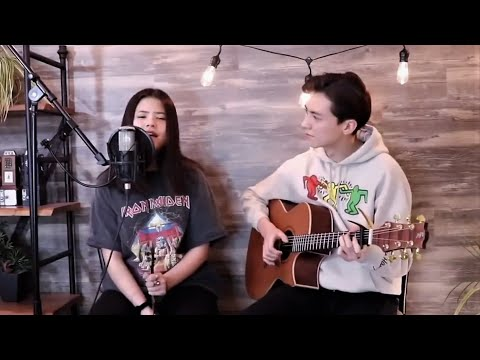 Powfu - death bed (coffee for your head) ft. beabadoobee (Cover by Andrew Foy and sister Renee)