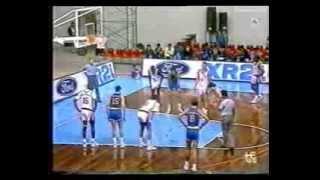 World Championship 1990 FIBA. Venezuela vs España