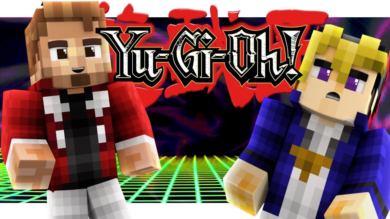 Yugioh Duelist Kingdom Minecraft Roleplay Dinosaur Deck YouTube - Skins para minecraft pe yugioh