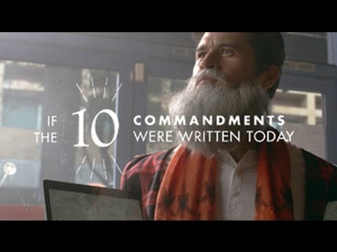 If the 10 Commandments Were Written Today