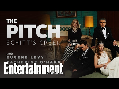 The cast of 'Schitt's Creek' pitches their show to 'Beetlejuice'