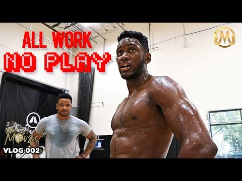 Dallion King Puts in WORK at The Mamba Sports Academy + Halloween Hooping | Workout Vlog 002
