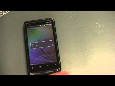 HTC EVO Design 4G Unboxing