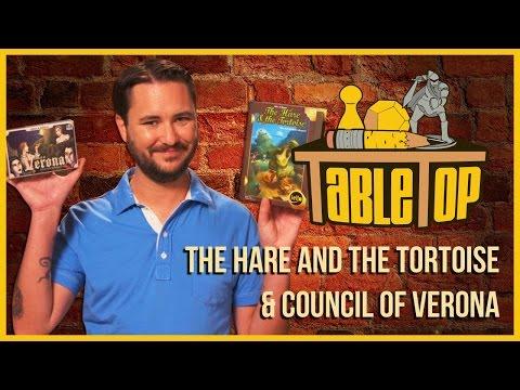 Hare&Tortoise/Council of Verona: Alison Haislip, Jessica Merizan + David Kwong on TableTop S03E04
